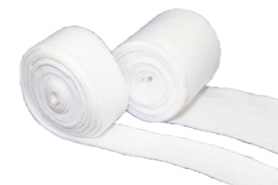 Sealing tapes made from swelling fleece